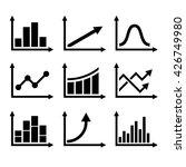 business infographic graph... | Shutterstock . vector #426749980