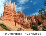 hiking bryce canyon national... | Shutterstock . vector #426752593