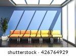 3d rendering of waiting room... | Shutterstock . vector #426764929
