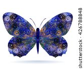 butterfly. isolated on white... | Shutterstock .eps vector #426788848
