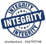 integrity. stamp   Shutterstock .eps vector #426795748