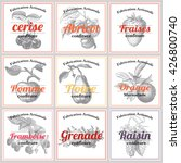 french jam labels | Shutterstock .eps vector #426800740