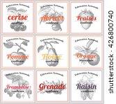 french jam labels | Shutterstock .eps vector #426800740