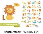 children's alphabet with...   Shutterstock . vector #426802114