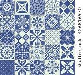 big set of tiles background.... | Shutterstock . vector #426816970