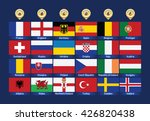 football icons flags. | Shutterstock .eps vector #426820438