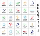network icons set   isolated on ... | Shutterstock .eps vector #426827758