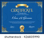 certificate of recognition... | Shutterstock .eps vector #426835990