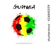 abstract soccer ball painted in ... | Shutterstock .eps vector #426840559
