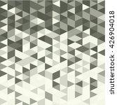 vector geometric abstract metal ...   Shutterstock .eps vector #426904018