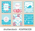 summer ocean and beach theme... | Shutterstock .eps vector #426906328