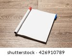 magazine pages | Shutterstock . vector #426910789