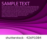 abstract blue background with... | Shutterstock .eps vector #42691084