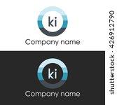 ki letter circle shape icon... | Shutterstock .eps vector #426912790