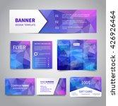 banner  flyers  brochure ... | Shutterstock .eps vector #426926464