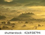 mountain and mist sunrise in... | Shutterstock . vector #426938794