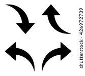 arrow icon set  arrow pictogram ...   Shutterstock .eps vector #426972739