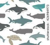 sea seamless pattern. great... | Shutterstock .eps vector #426984973