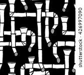 downspout pattern  | Shutterstock .eps vector #426997090