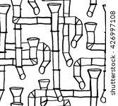 downspout pattern  | Shutterstock .eps vector #426997108