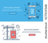 app development mobile banner...