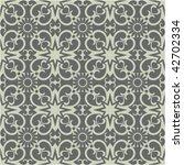 ornate seamless pattern  vector ... | Shutterstock .eps vector #42702334