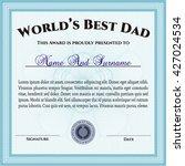 world's best father award