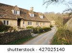 View Of Old English Cottages O...