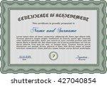 certificate template eps10 jpg...   Shutterstock .eps vector #427040854