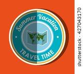 travel vacations  design  | Shutterstock .eps vector #427043170