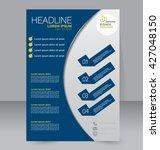 abstract flyer design... | Shutterstock .eps vector #427048150