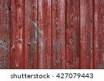 Horizontal Red Barn Board Wall...