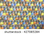 abstract colorful smooth... | Shutterstock . vector #427085284