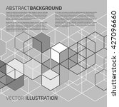 vector abstract background with ... | Shutterstock .eps vector #427096660
