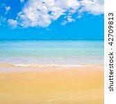 smooth beach | Shutterstock . vector #42709813