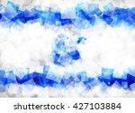 flag of israel  state of israel ... | Shutterstock .eps vector #427103884