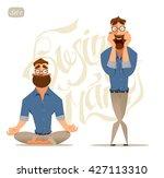 business man. business... | Shutterstock .eps vector #427113310