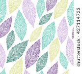 seamless pattern with colored... | Shutterstock .eps vector #427114723