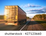 truck on the road | Shutterstock . vector #427123660