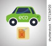 eco design. bio icon. isolated...   Shutterstock .eps vector #427136920