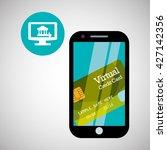 invoice design. online payment. ...   Shutterstock .eps vector #427142356