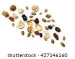 granola or muesli scattered... | Shutterstock . vector #427146160