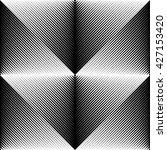 seamless geometric pattern.... | Shutterstock .eps vector #427153420