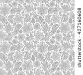 abstract floral seamless... | Shutterstock . vector #427160608