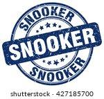 snooker. stamp | Shutterstock .eps vector #427185700