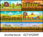 farm game background set