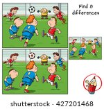 find differences. educational... | Shutterstock .eps vector #427201468
