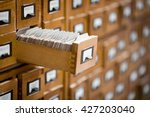library or archive reference... | Shutterstock . vector #427203040