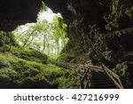 Stairs In Cave Entrance