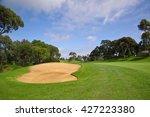 golf course | Shutterstock . vector #427223380